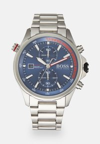 BOSS - GLOBETROTTER - Chronograph watch - silver-coloured - 0