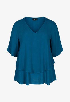 Blouse - moroccan blue