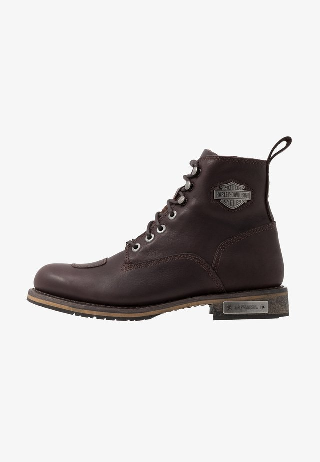 WILLARD - Lace-up ankle boots - porter