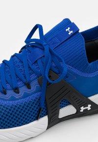 Under Armour - PROJECT ROCK 4 - Scarpe da fitness - blue - 5