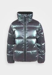 Calvin Klein Jeans - IRIDESCENT STAND COLLAR PUFFER - Winter jacket - gentian violet - 4