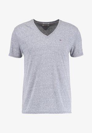 ORIGINAL TRIBLEND V-NECK TEE REGULAR FIT - Basic T-shirt - black iris