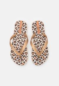 Ipanema - CLASSIC KIDS - Pool shoes - beige/gold/brown - 3