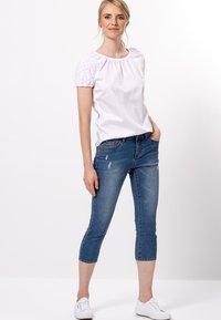 zero - Slim fit jeans - ocean blue authentic wash - 1