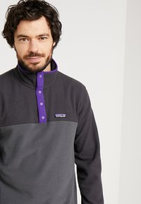 Patagonia - MICRO SNAP - Fleece jumper - forge grey - 3