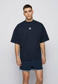 BOSS - T BOX - Basic T-shirt - dark blue - 0