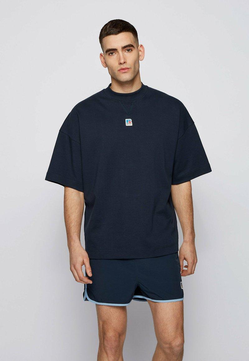 BOSS - T BOX - Basic T-shirt - dark blue