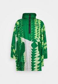 Nike Performance - NFF NIGERIA PONCHO - National team wear - pine green/sub lime/pure platinum/black - 4