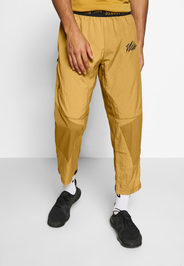 Tracksuit bottoms - wheat