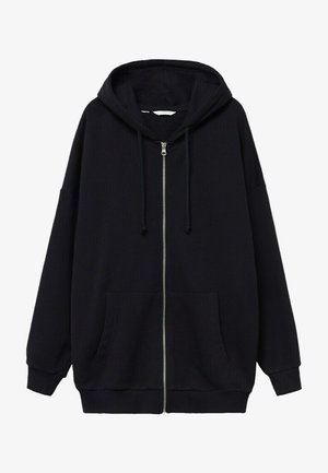 JANIS - veste en sweat zippée - noir