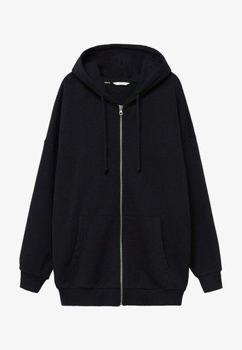 JANIS - Zip-up sweatshirt - noir