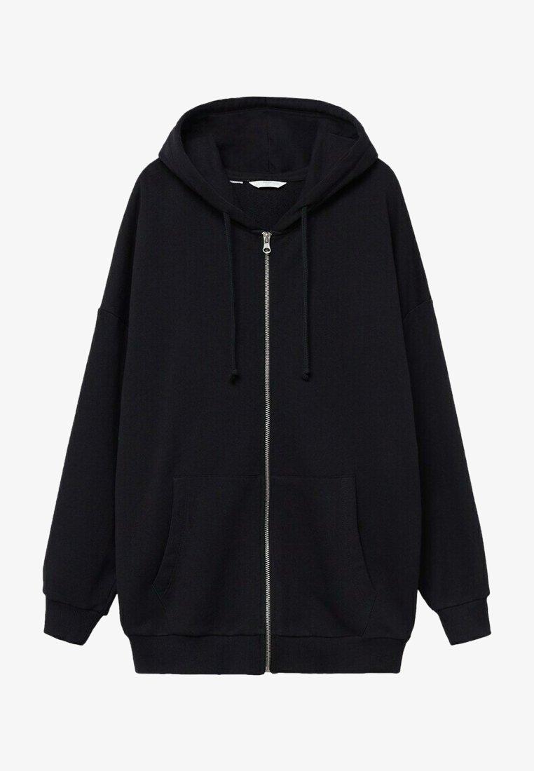 Mango - JANIS - Zip-up sweatshirt - noir