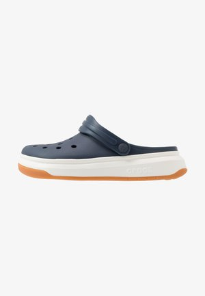 CROCBAND FULL FORCE  - Sandály do bazénu - navy/white