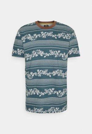 OTHERSIDE JACQUARD - Print T-shirt - emerald