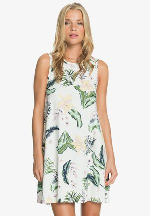 PARADISE ISLE - Jersey dress - snow white large praslin