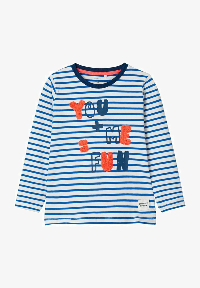 Name it - GESTREIFTES - Long sleeved top - imperial blue