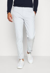 Tommy Hilfiger Tailored - FLEX SLIM FIT PANT - Trousers - grey - 0
