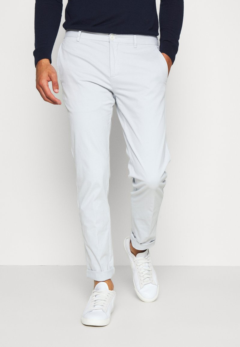 Tommy Hilfiger Tailored - FLEX SLIM FIT PANT - Trousers - grey