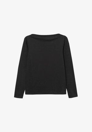 EBBA  - Long sleeved top - black