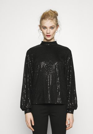 SEQUIN  - Blouse - black