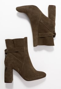 mint&berry - Classic ankle boots - khaki - 3