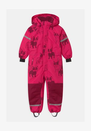 UNISEX - Snowsuit - dark pink