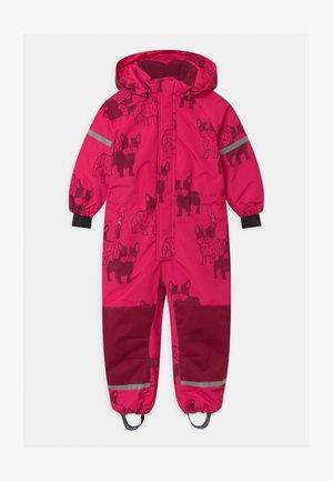 UNISEX - Schneeanzug - dark pink