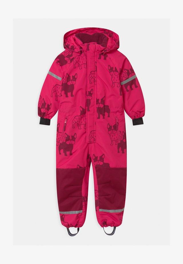UNISEX - Snowsuit - dark pink