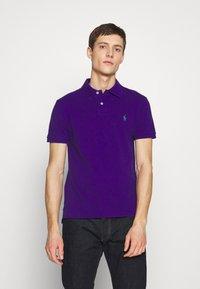 Polo Ralph Lauren - SLIM FIT MESH POLO SHIRT - Polotričko - chalet purple - 0