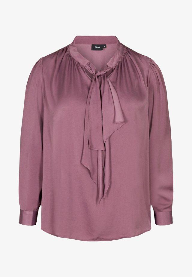 Bluse - light purple