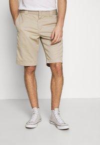 Carhartt WIP - MASTER DENISON - Shorts - wall rinsed - 0