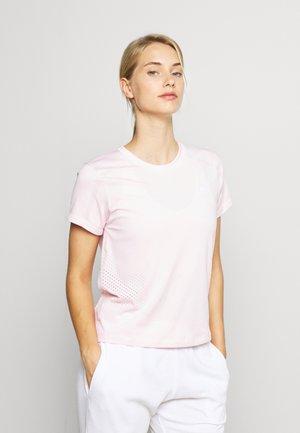 T-shirt basic - clear pink
