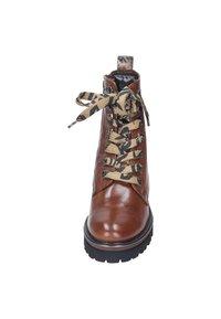 Maripé - Lace-up ankle boots - cognac - 4