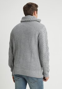 INDICODE JEANS - STONE - Jumper - light grey mix - 2