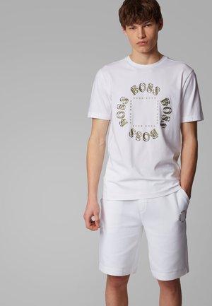 TEE 5 - T-shirt print - natural