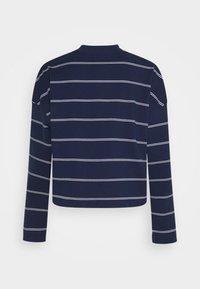 Nike Sportswear - STRIPE - Jumper - midnight navy/white - 9