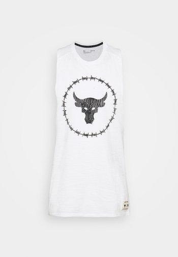 PROJECT ROCK TANK - Top - onyx white