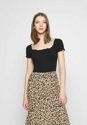 LETTUCE EDGE BARDOT - Top - black