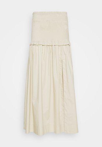 MINOU SKIRT - Maxi sukně - pumice