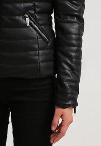 Morgan - CRAIE - Faux leather jacket - noir - 5
