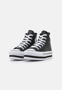 Converse - CHUCK TAYLOR ALL STAR PLATFORM LAYER - Sneakers alte - black/white - 2