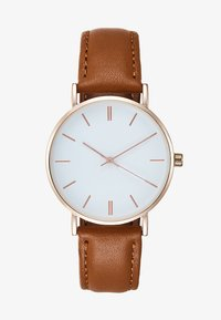KIOMI - Watch - cognac - 1