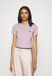 Levi's® - BABY TEE - Print T-shirt - lavender frost - 0