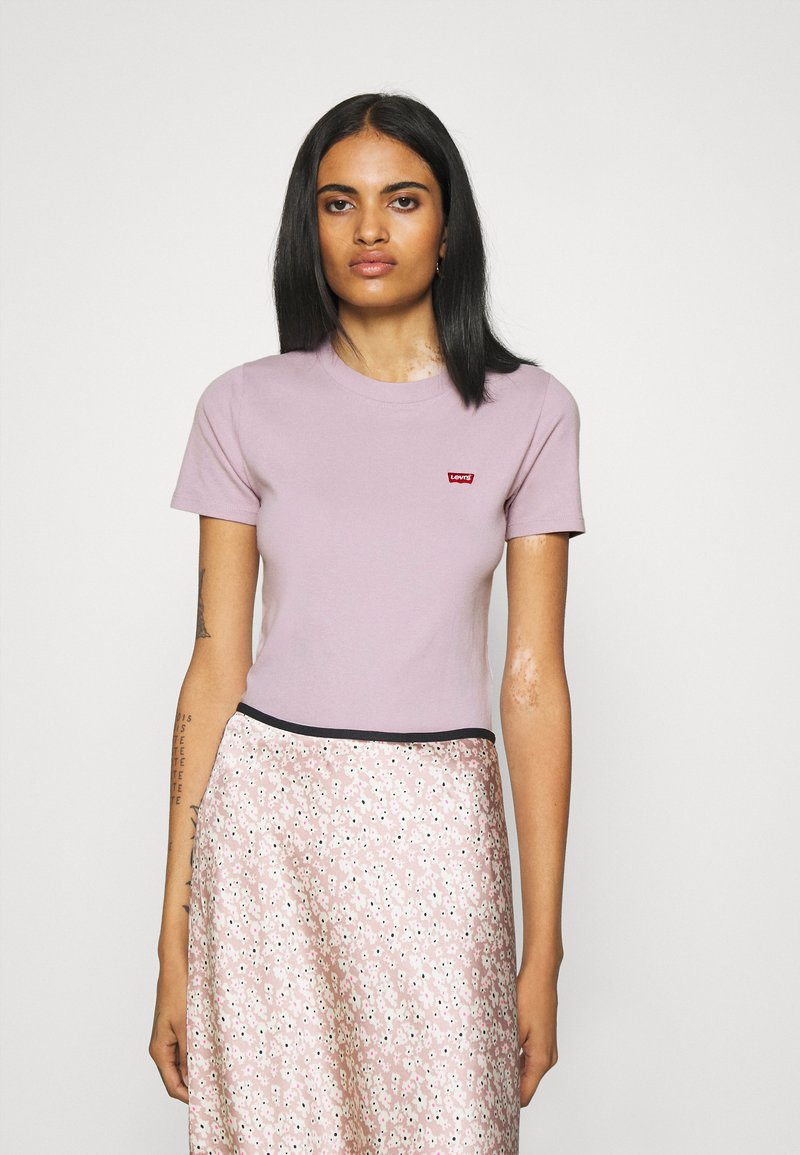 Levi's® - BABY TEE - Print T-shirt - lavender frost