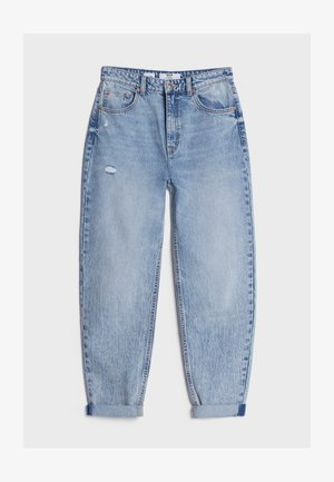 MIT UMSCHLAG  - Relaxed fit jeans - blue denim