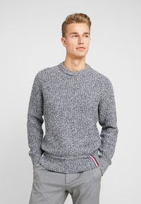 Tommy Hilfiger - PRETWISTED DETAILED - Trui - blue - 0