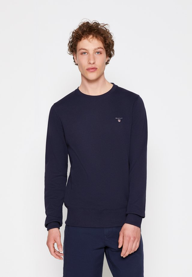 ORIGINAL C NECK - Sweatshirt - evening blue