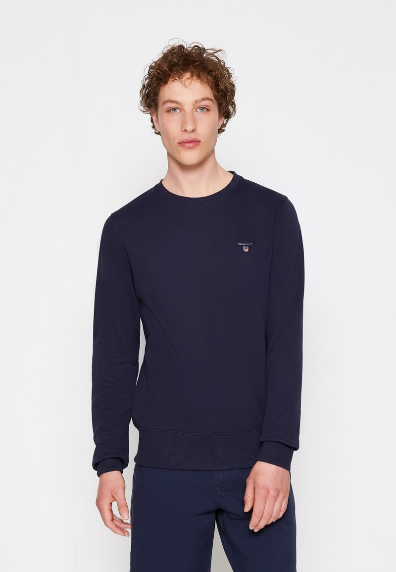 GANT - ORIGINAL C NECK - Sweatshirt - evening blue