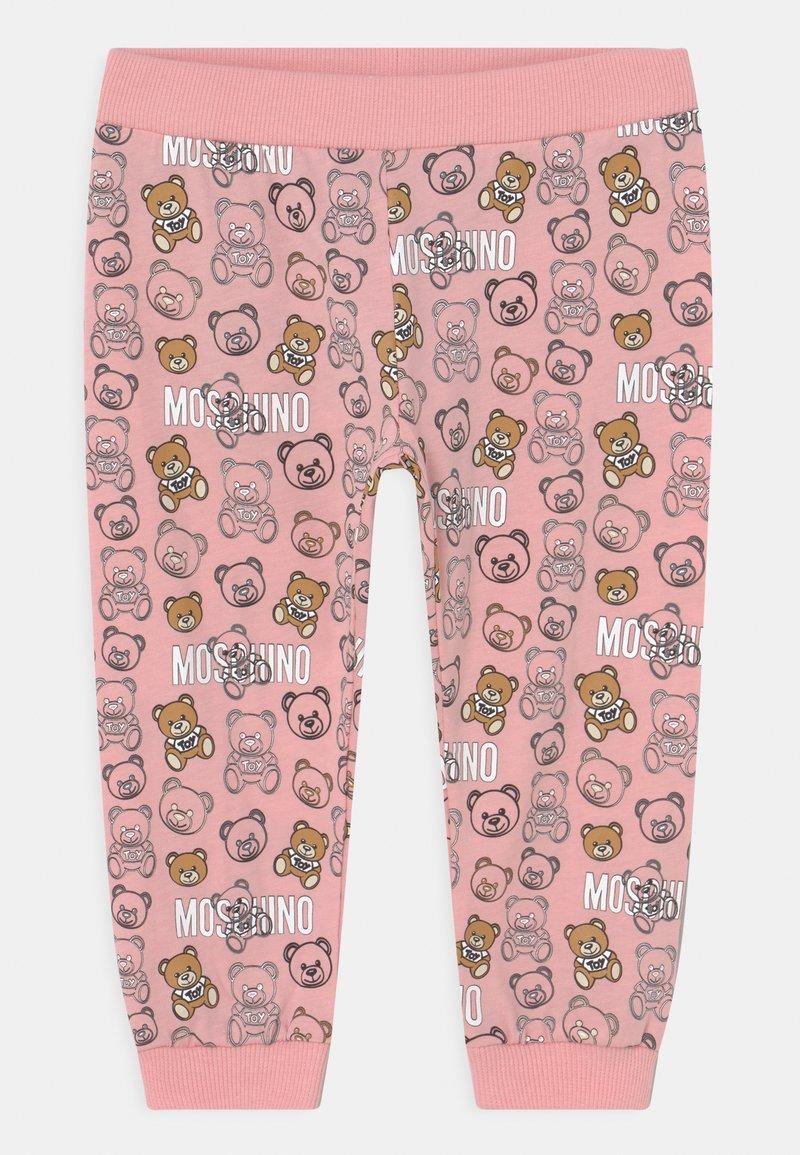 MOSCHINO - TROUSERS ADDITION - Kalhoty - pink