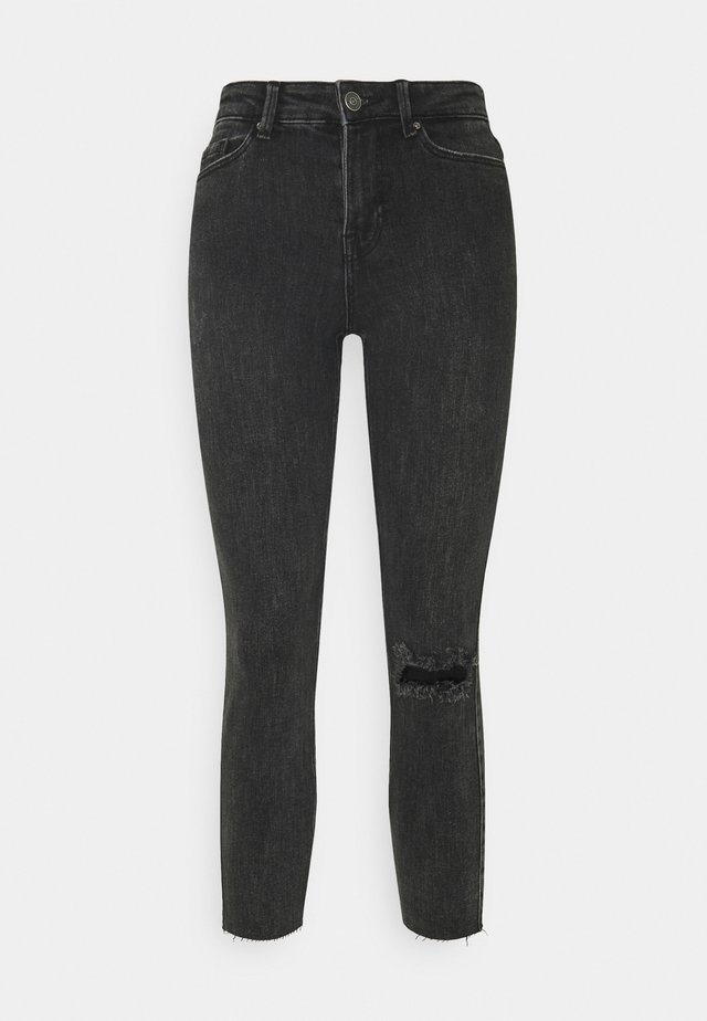 PCLILI - Jeans Skinny Fit - black denim
